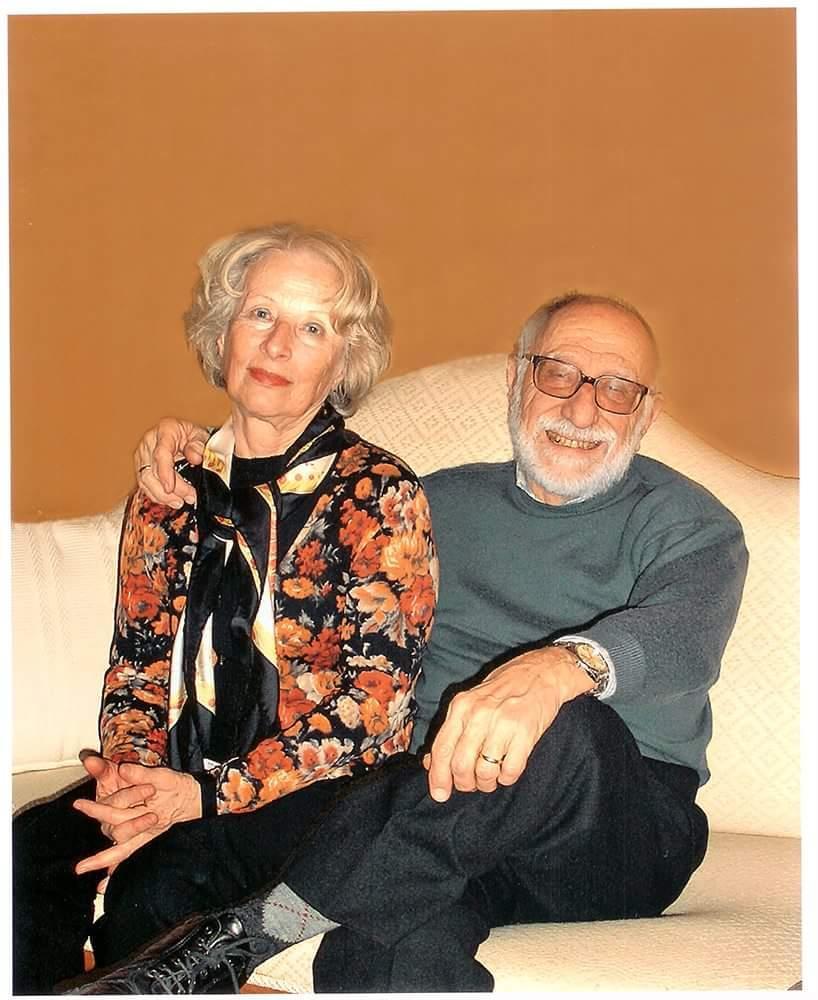 il prof. Alessandro Todesca e la moglie Maria Giuseppina Zanon